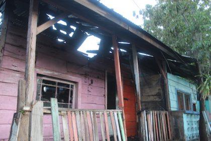 Foto 4-Vivienda con pérdida total en Colonia Ranchería