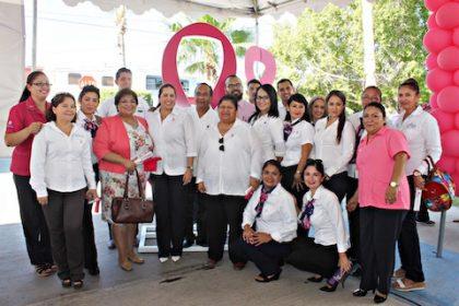 Arranque Mes de Lucha contra el cáncer de Mama (4)