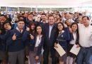 ARRANCA GOBERNADOR PROGRAMA BECAS DE TRANSPORTE A ESTUDIANTES DE COMONDÚ